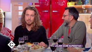 Julien Doré et Frédéric Lopez au dîner - C à Vous - 04/12/2017