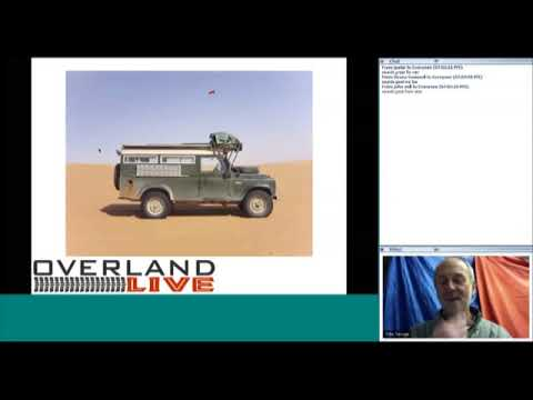 Overland Live Webcast with Toby Savage
