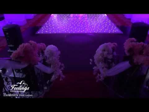 "5 star Hotel Amman Wedding Setup ""Feelings Wedding Planner"""
