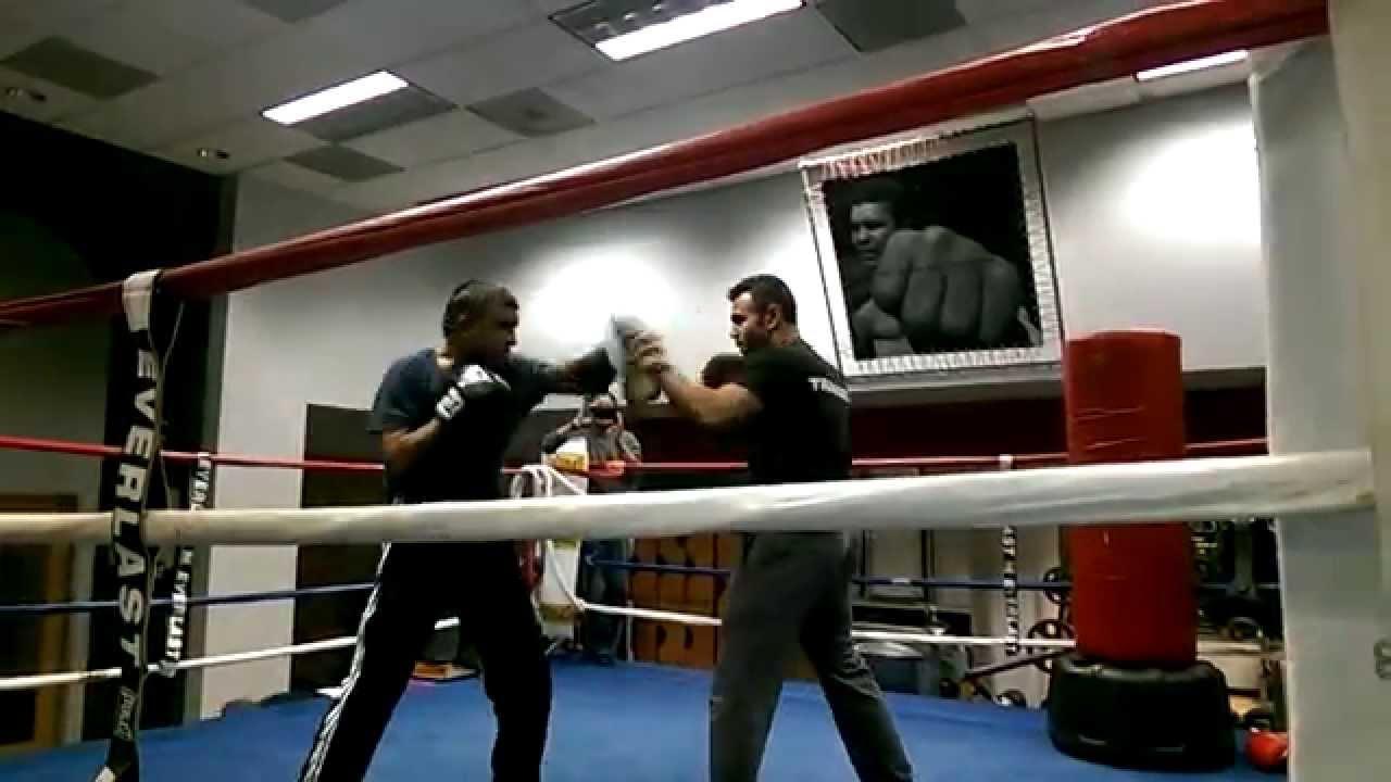 Farshid Enteghami Iranian Boxing Former Champ at Shape It Fitness ...