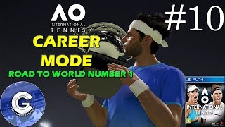 Let's Play AO International Tennis | Career Mode #10 | Monte Carlo Masters | Round 4
