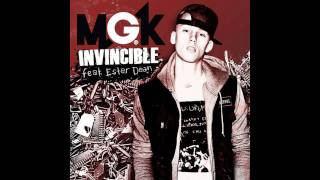 "Machine Gun Kelly- ""Invincible"" ft. Ester Dean (Lyrics)"