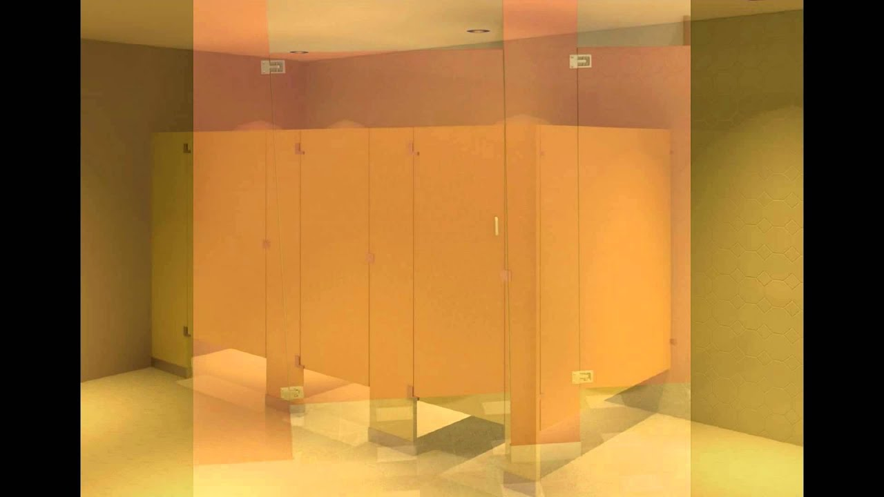 Bathroom Partitions Michigan bathroom partitions - youtube