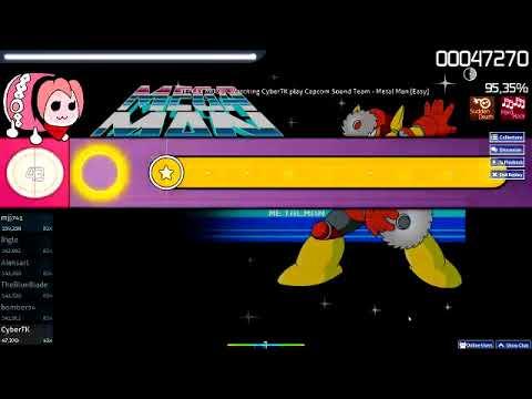 Osu Taiko Mega Man 2 Metal Man (easy)  Score 111.290
