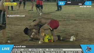 Final Match | Dirba Vs Benra | Chananwal (Barnala) Kabaddi Tournament 20 Feb 2020