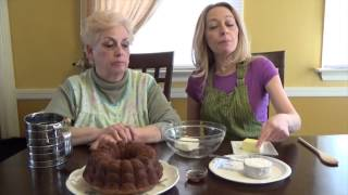 Ya Mom's In The Kitchen - Episode For Liza - Great Aunt Fanny's Banana Cake - Pt. Ii
