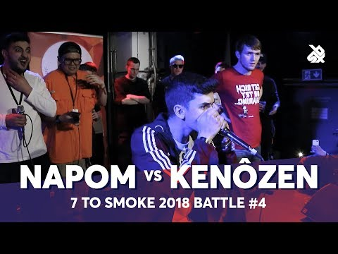 NAPOM vs KENÔZEN  Grand Beatbox 7 TO SMOKE Battle 2018  Battle 4