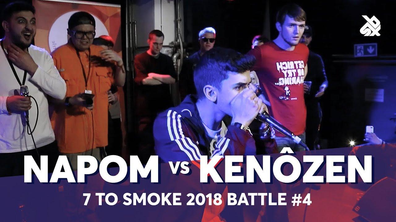 NAPOM vs KENÔZEN | Grand Beatbox 7 TO SMOKE Battle 2018 | Battle 4