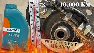Repsol Elite 50501 TDI 5W40 - 10 000km Test tarcia 100°C