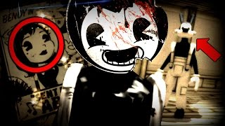 BENDY'S HUMAN FORM, BORIS FOUND & NEW ALICE ANGEL!?   Bendy And The Ink Machine Chapter 2 (Ending)