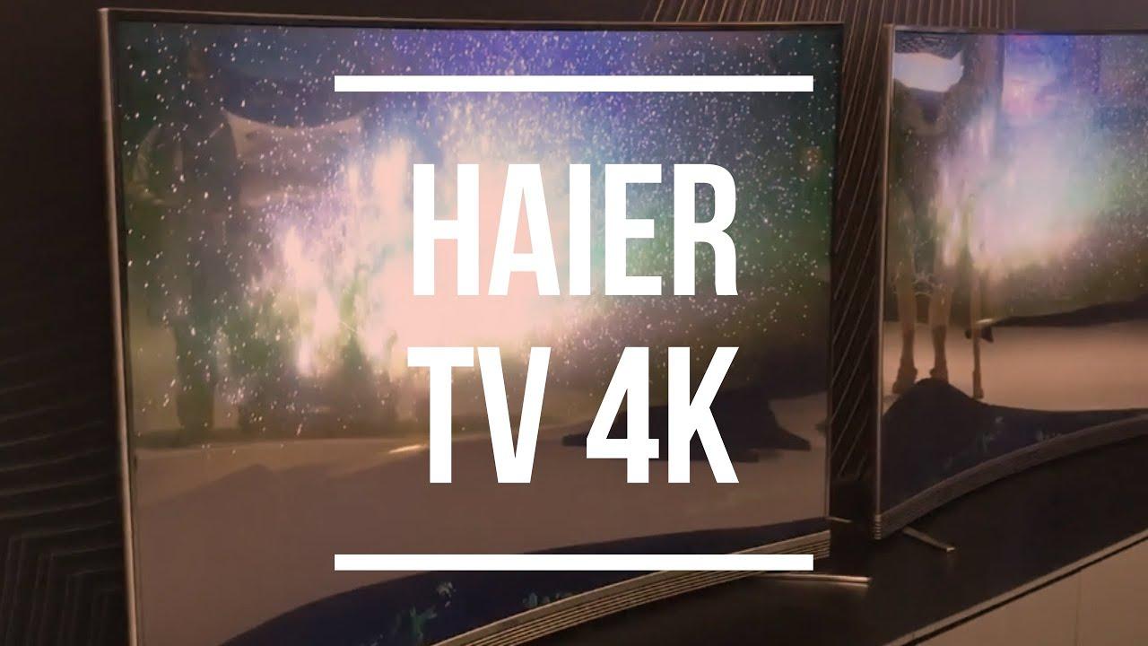 haier 55 4k. haier gamma tv 4k: anteprima video da ifa 2016 55 4k