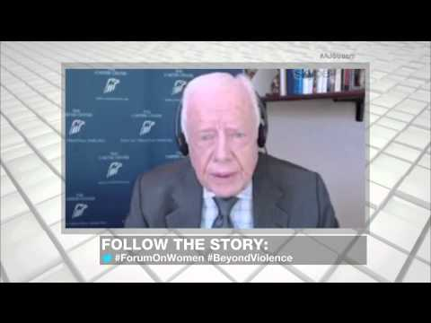 President Jimmy Carter's 'call to action' on women's rights - Highlights