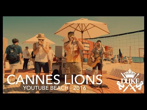 || Cannes Lions Festival 2016  || Youtube Beach ||