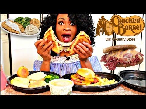 MUKBANG: CRACKER BARREL! EATING SHOW! YUMMYBITESTV