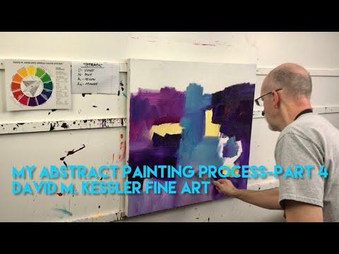 My Abstract Painting Process-Part 4