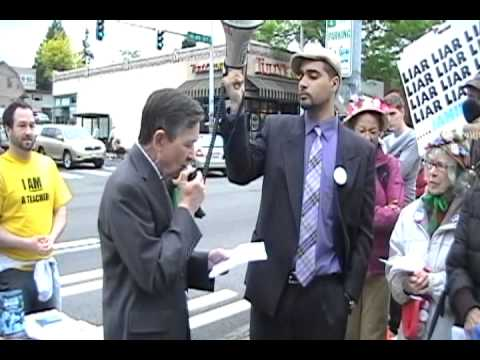 Direct Action - Teach In at Chase Bank in Seattle, WA (Full