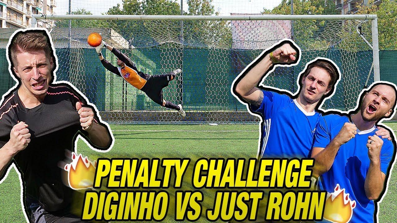 Just Diginho Challenge Donnarumma Penalty Vs Rohnamp; ARjL543