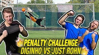 PENALTY CHALLENGE - Diginho VS Just Rohn & Donnarumma