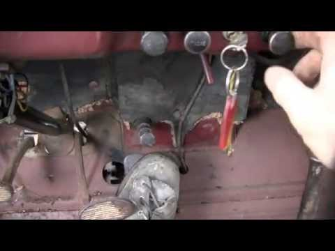 1946 Dodge Truck Push Button Starter - YouTube