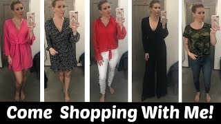 INSIDE THE DRESSING ROOM| New At Nordstrom Try On~ Casual and Dressy