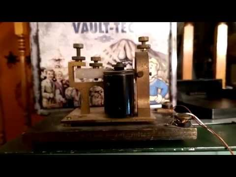 19th Century Telegraph ticker to PC Parallel Port
