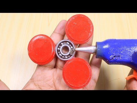 How to Make a Fidget Spinner with Hot Glue