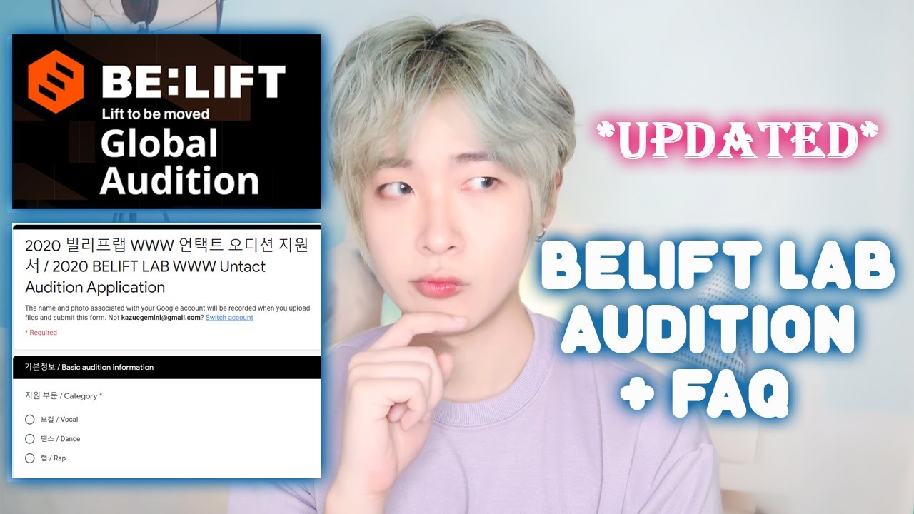Updated Belift Lab Kpop Global Audition How To Apply Online Properly Faq Of Belift Kpop Audition Youtube