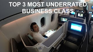 Top 3 Most UNDERRATED Business Class - Fly Luxury with a Budget!
