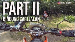 PANIK, AKHIRNYA CARI JALAN RAYA - Turing Semarang Yogya (Full HD) #PART II