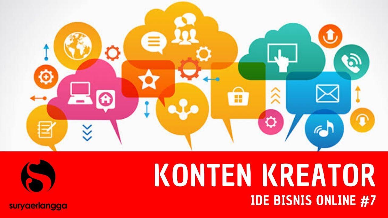 Ide Bisnis Online untuk Pemula #7   Menjadi Konten Kreator ...