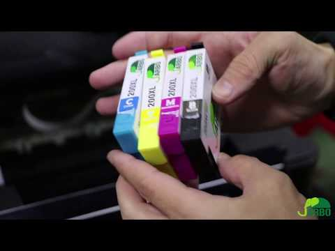 How to Replace Ink Cartridges in the Epson  XP-400 XP-410 WF-2540 WF-2530 WF-2520 WF-2510