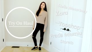 SPRING OUTFITS | TRY ON HAUL | 穿搭 | ZARA | ARITZIA | TOPSHOP【不是猫小HelloKitty】