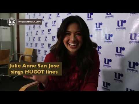 Julie Anne San Jose sings hugot lines!