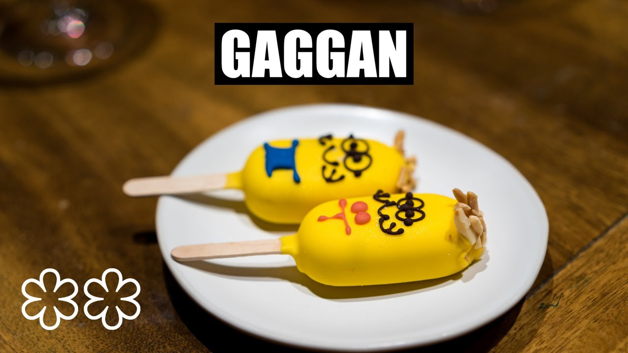 The Gaggan Emoji Menu – Asia's Best Restaurant 2015-2018