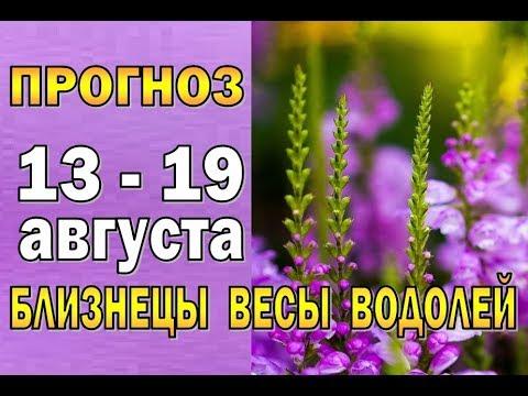 Таро прогноз (гороскоп) с 13 по 19 августа БЛИЗНЕЦЫ, ВЕСЫ, ВОДОЛЕЙ