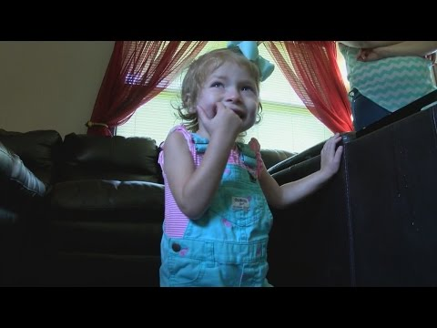 Kingsport girl keeps fighting after enduring a stroke and open heart surgery at just two years old