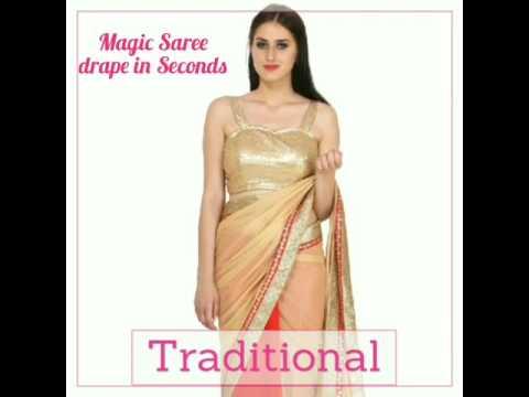 Popular Magic Saree Styles