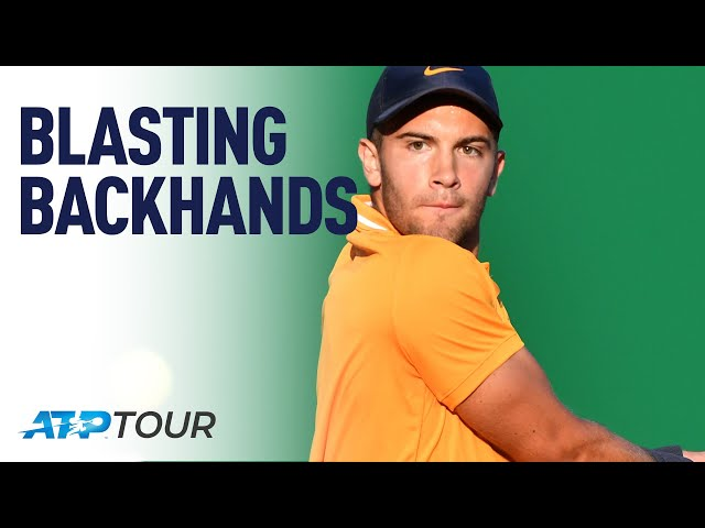 Backhand Tips With Borna Coric | MASTERCLASS | ATP