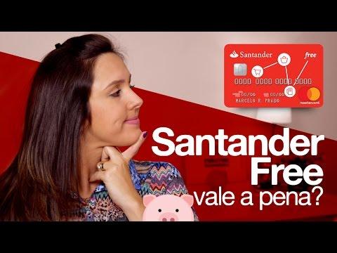 Cartão de crédito SANTANDER FREE, vale a pena?
