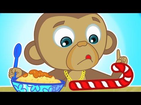 Pretend Play & Treat Time For Funny Kids | Rice with Milk | Nursery Rhymes & Kids Songs HooplaKidz