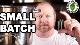 How To Brew Small Batch All Grain BIAB Beer | Brewing on Small batch Brewing Equipment