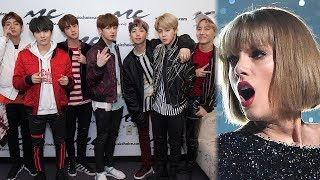 BTS DETHRONES Taylor Swift s YouTube Record With Idol Music MP3