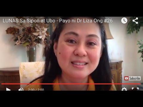 LUNAS Sa Sipon at Ubo - Payo ni Doc Liza Ramoso-Ong #26