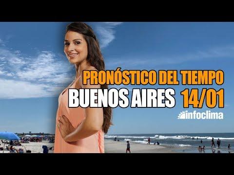 Pronóstico Para El 14 De Enero De 2020. Buenos Aires - Argentina - Infoclima TV
