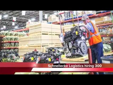 Schnellecke Logistics USA hiring 300 jobs