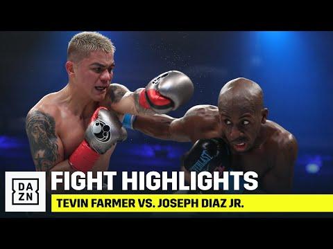 HIGHLIGHTS | Tevin Farmer Vs. Joseph Diaz Jr.
