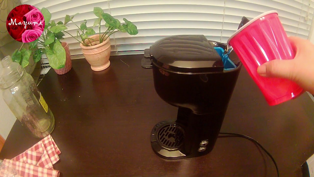 2018 Walmart Sell Mainstays Single Serve Coffee Maker Review Youtube