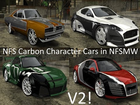Need For Speed: Most Wanted (2005) - Character Cars From Need For Speed: Carbon - V2