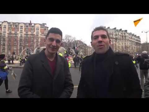 Violences policières et Gilets jaunes: Sputnik France prolonge le débat en plein Acte 12