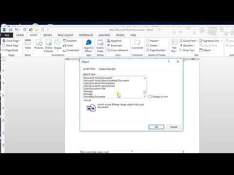 Soạn thảo văn bản (Microsoft Word) - 32/50 Chèn trực tiếp nội dung Excel, Powerpoint, Word (Object)